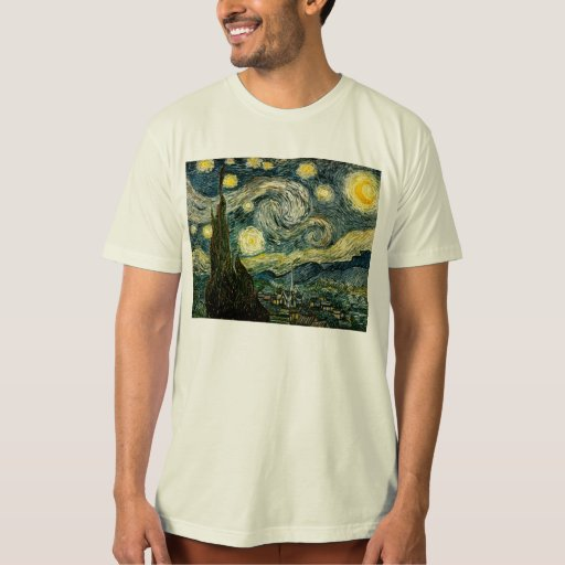 Vincent van Gogh's The Starry Night (1889) Tee Shirts