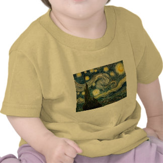 Vincent van Gogh's The Starry Night (1889) Tees