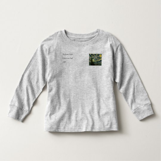 Vincent van Gogh's The Starry Night (1889) Toddler T-shirt