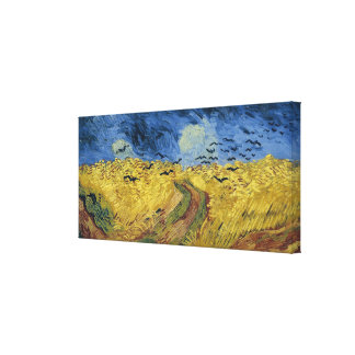 Vincent van Gogh's Wheat Field with Crows (1890) Canvas Print