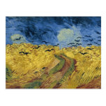 Vincent van Gogh's Wheat Field with Crows (1890) Postcards