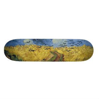 Vincent van Gogh's Wheat Field with Crows (1890) Skateboard Decks