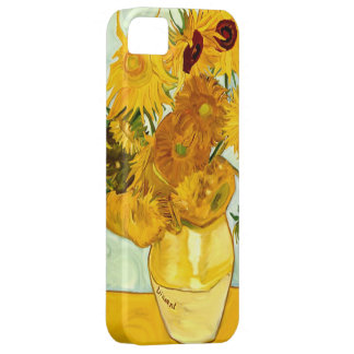 Vincent Van Gogh's Yellow Sunflower Painting 1888 iPhone 5 Covers
