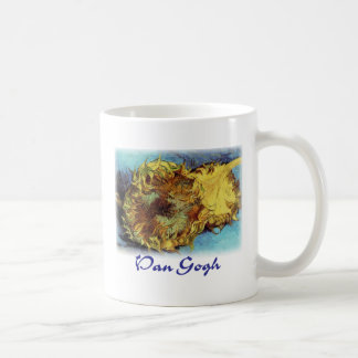 Vincent VanGogh - Cut Sunflowers Coffee Mug