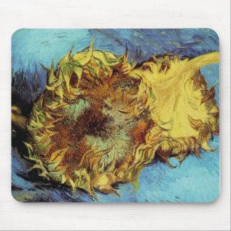 Vincent VanGogh - Cut Sunflowers Mouse Pad