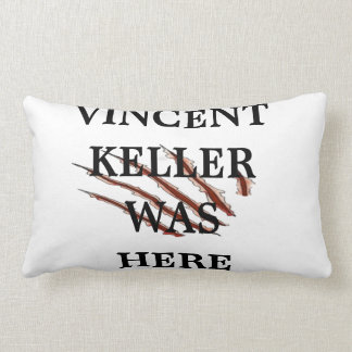 Vincent Was Here Pillow
