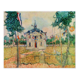 Vincent Willem van Gogh- 14 de julio en Auvers Póster