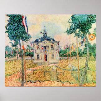 Vincent Willem van Gogh-14 July in Auvers Print