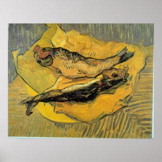 Vincent Willem Van Gogh - arenques ahumados Póster
