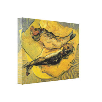 Vincent Willem van Gogh - Bloaters Gallery Wrapped Canvas