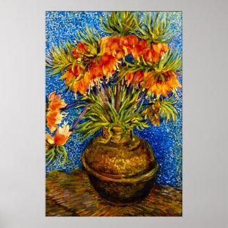 Vincent Willem Van Gogh - Fritillaries Póster