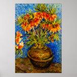 Vincent Willem van Gogh - Fritillaries Print