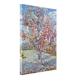 Vincent Willem van Gogh - Reminiscence of Mauve Stretched Canvas Print