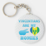 Vincentians are my Homies Key Chains