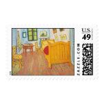 Vincent's Bedroom in Arles 1888 Stamp