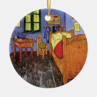 Vincent's Bedroom in Arles by Vincent van Gogh Ceramic Ornament