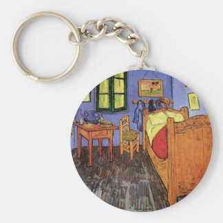 Vincent's Bedroom in Arles by Vincent van Gogh Keychain