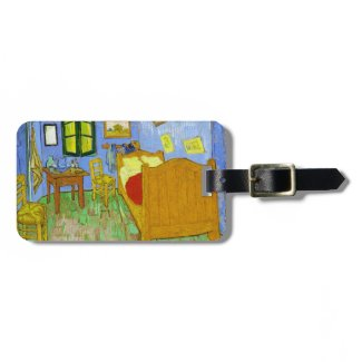 Vincent's Bedroom in Arles by Vincent Van Gogh Luggage Tags