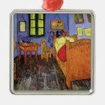 Vincent's Bedroom in Arles by Vincent van Gogh Metal Ornament