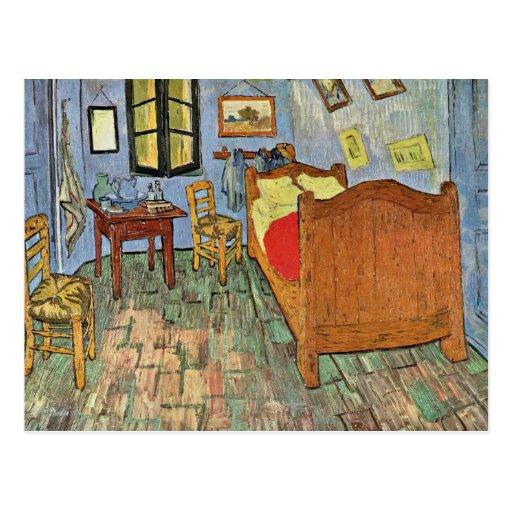 Vincent'S Bedroom In Arles, By Vincent Van Gogh Postcard