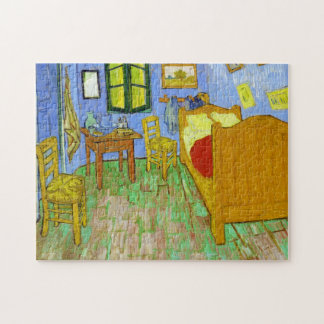 Vincent's Bedroom in Arles by Vincent Van Gogh Puzzle