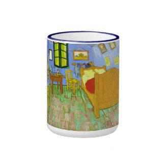 Vincent's Bedroom in Arles by Vincent Van Gogh Ringer Mug