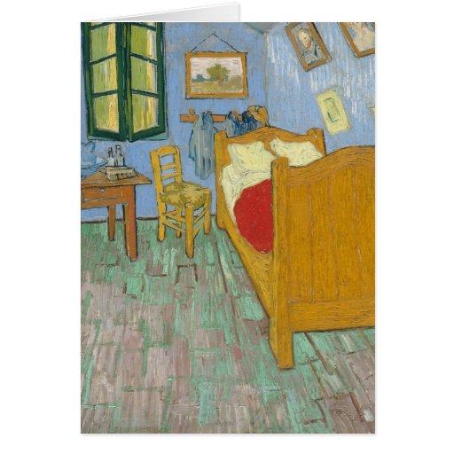 Vincent's Bedroom in Arles Greeting Card