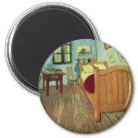 Vincent's Bedroom in Arles Fridge Magnets
