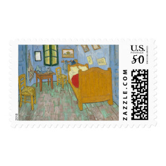 Vincent's Bedroom in Arles Postage