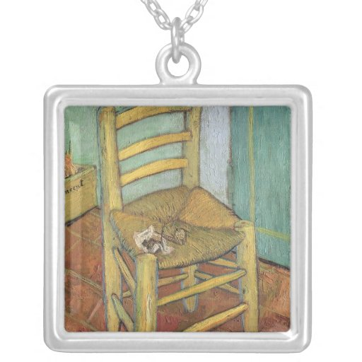 Vincent's Chair, 1888 Personalized Necklace