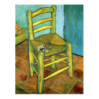Vincent's Chair by Van Gogh Postcard