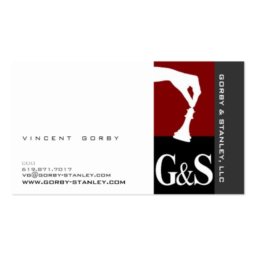 Vincent39s new business card zazzle for New business cards