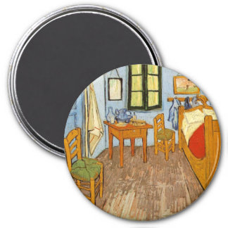 Vincent's Room 3 Inch Round Magnet