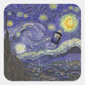 Vincent's Travels Square Sticker