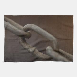 Vínculo en la cadena toalla