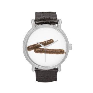 Vínculos de la salchicha relojes de mano