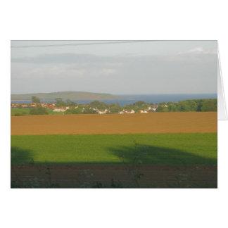 Vínculos de Lundin, Fife, Escocia Tarjeta Pequeña