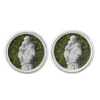 Vínculos de puño de St Anthony Mancuernillas