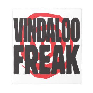 Vindaloo Freak Scratch Pad