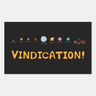 Vindication! Rectangle Sticker