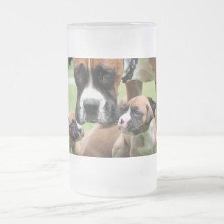 Vindy y perritos - foto 09 taza cristal mate