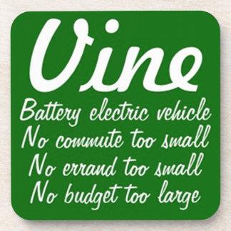 Vine battery electric vehicle coaster