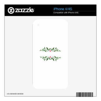VINE BORDER DECALS FOR iPhone 4