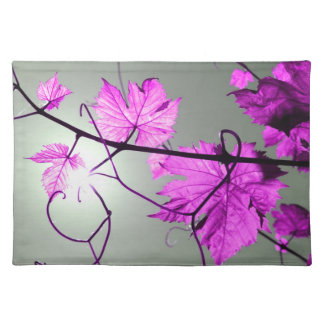 Vine branch placemats