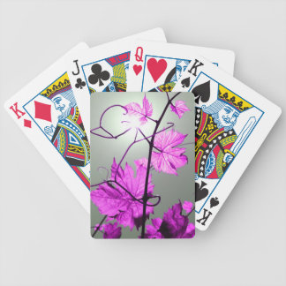 Vine branch playing cards