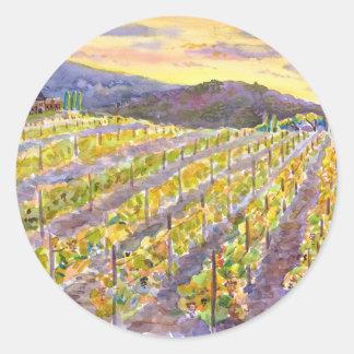Vine Classic Round Sticker