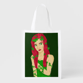 Vine Girl Reusable Grocery Bag