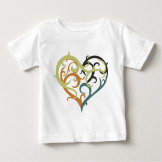 vine heart sea foam baby T-Shirt