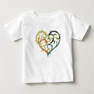 vine heart tribal baby T-Shirt
