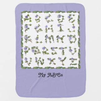 Vine Letter Baby Blanket